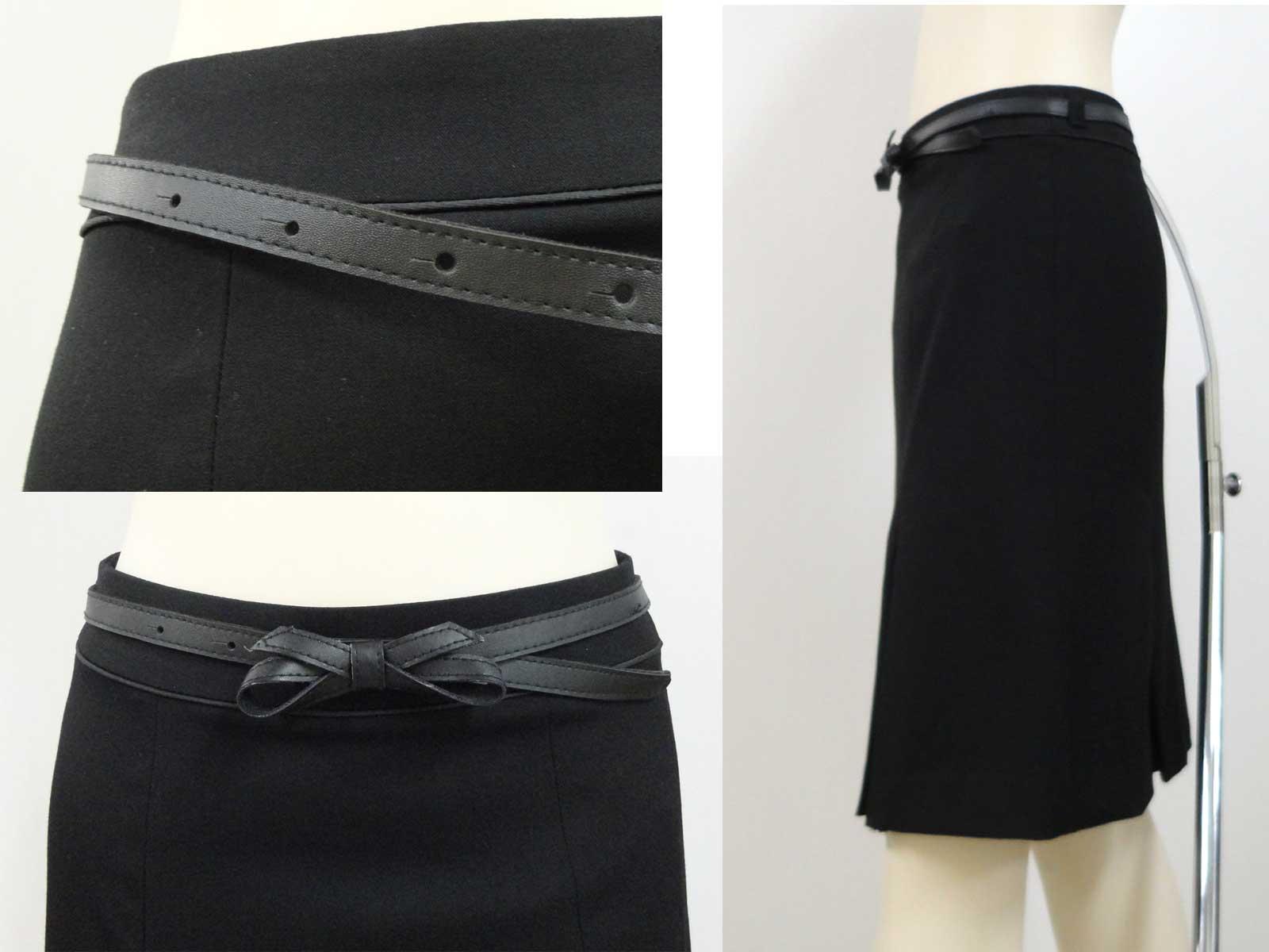 030スカート黒b3