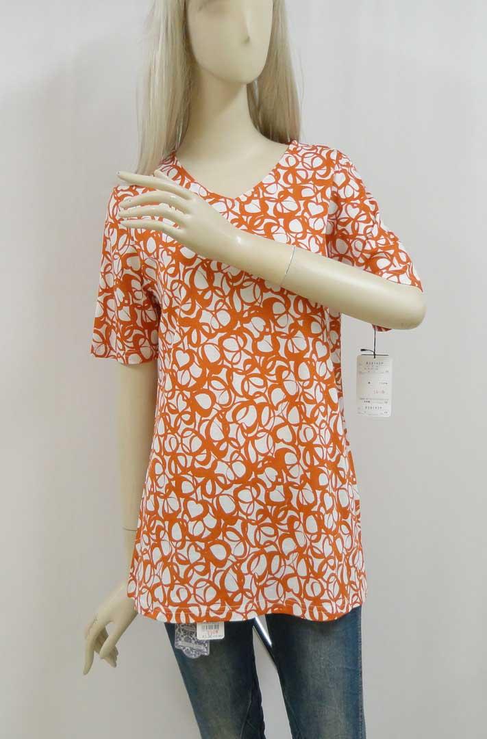 143Tシャツオレンジb