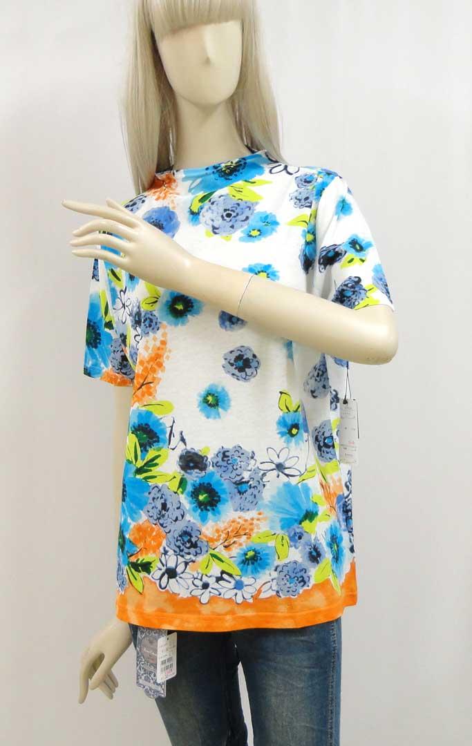 039Tシャツブルーb