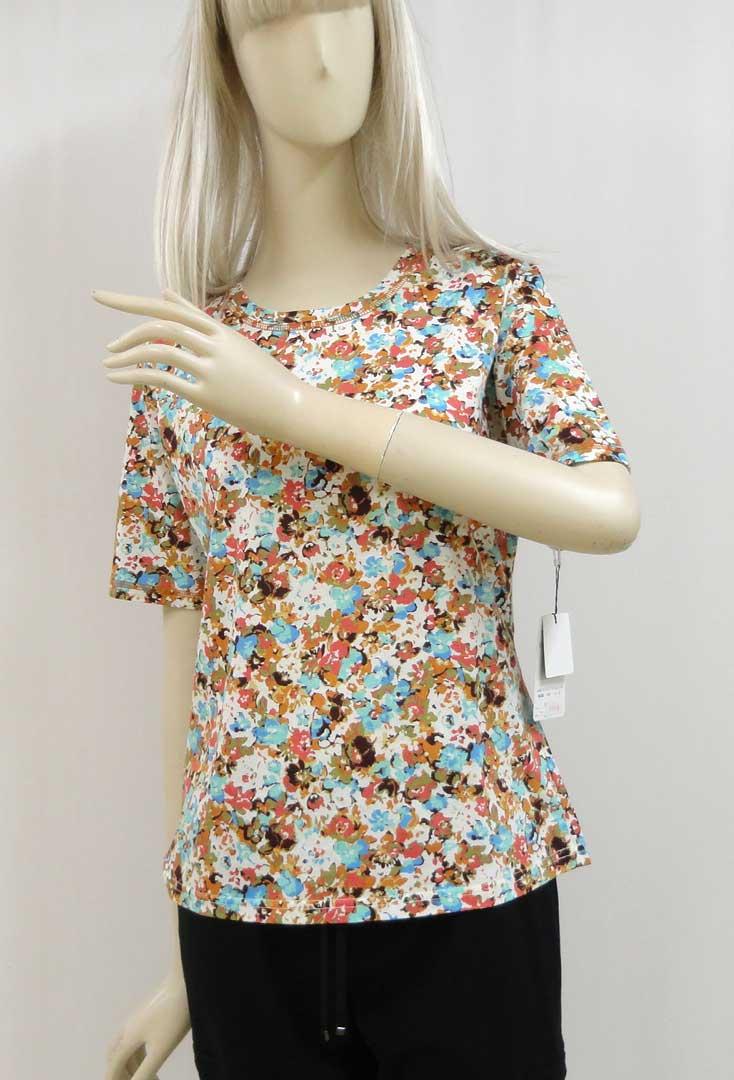 694Tシャツ花柄b