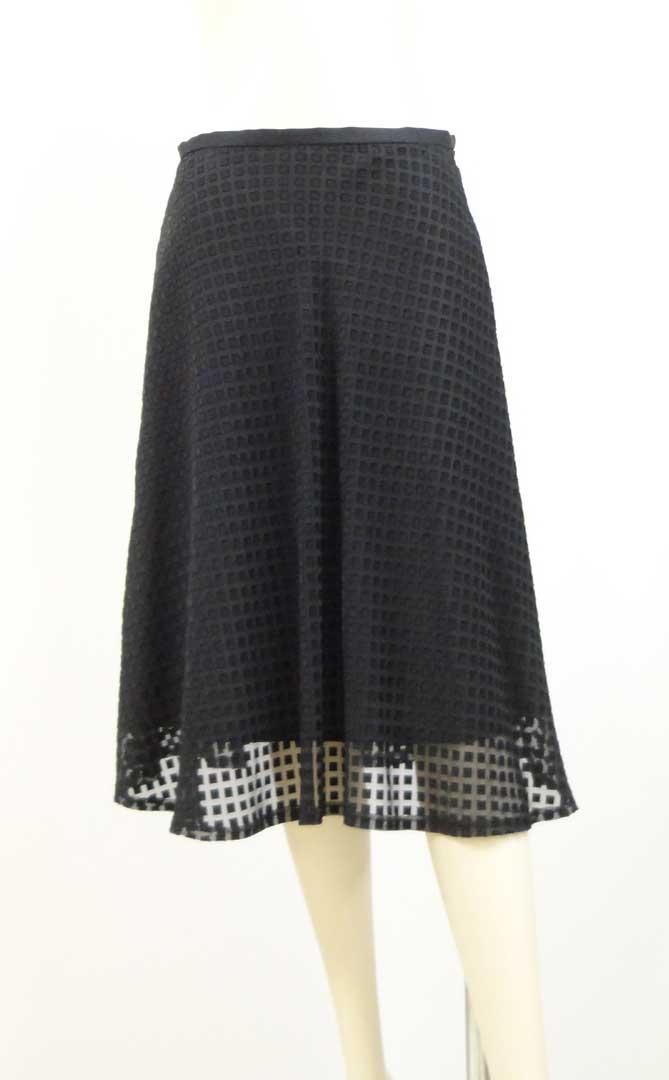 801スカート黒b
