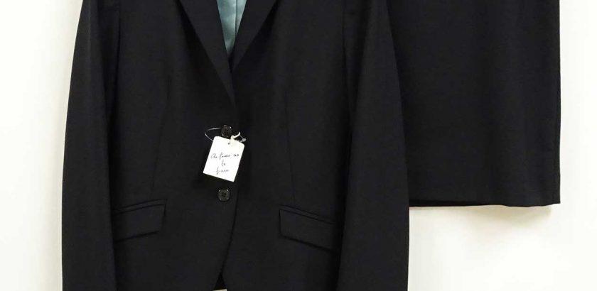 アズノウアズビジネスリクルートスーツ黒