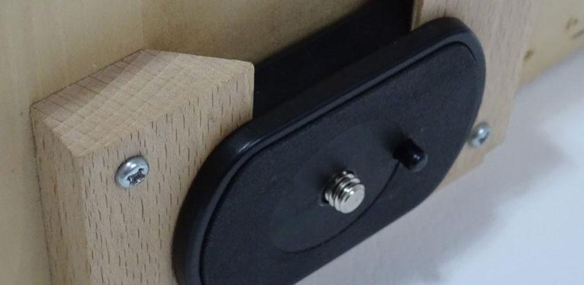 デジタルカメラ用木製雲台
