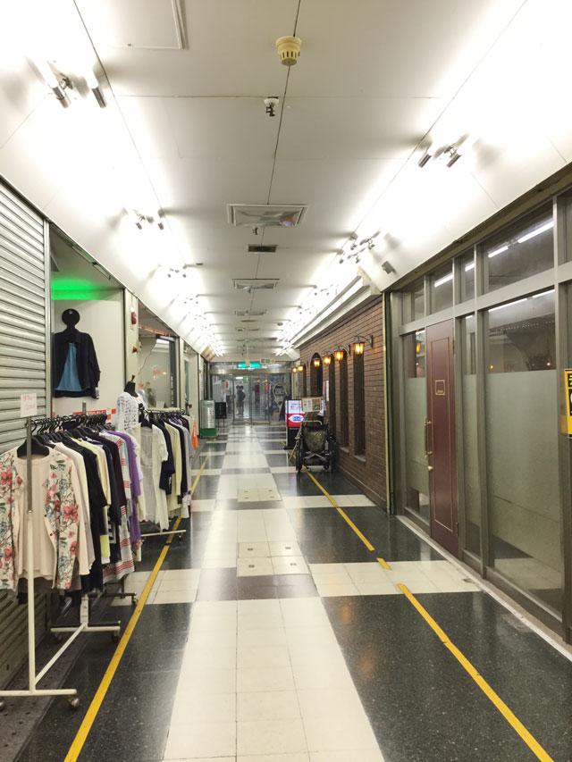 阪急茨木駅前ソシオビル地下ブティックランプシェード